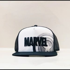 Men's captain America trucker hat